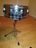 Ludwig snare drum new skins on both sides