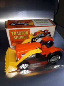 vintage plastic tractor--mint boxed