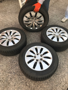 Michelin X-Ice Winter Tires with Honda Rims!