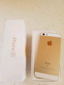 iPhone SE Gold
