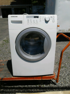 SAMSUNG WASHER AND DRYER MATCHING SET