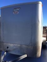 Bravo 2012 6x12 Enclosed Cargo Utility Trailer High End w/Ramp