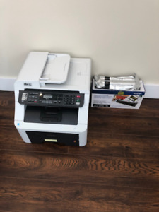 Brother MFC-9125 Printer + 2 new black toners for sale