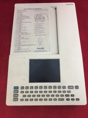 Burdick Eclipse 850 Electrocardiograph Ecg Machine Ecl 850 See Listing