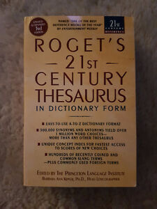 Roget's 21st Century Thesaurus-3rd Edition