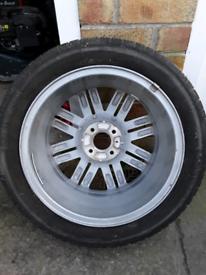 Renault clio spare wheel