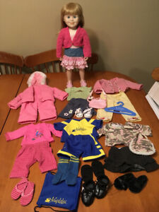 "18"" doll maplelea doll with clothes like American girl dolls"