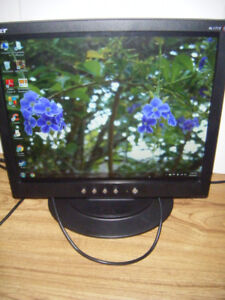 17 inch Acer Lcd Monitor for sale in Truro.