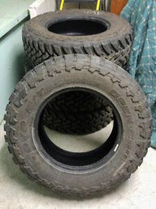 4x pneus d'été LT275/70R18 TOYO Open Country M/T