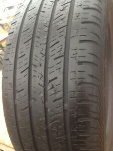 3  Continental Summer tires 215-55-18