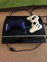 Playstation 3 60 GB + Extra Controller - Fat PS3 Console Sony