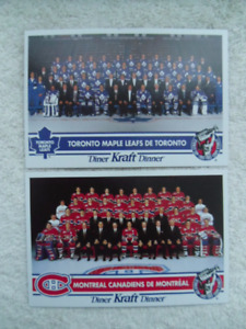 1992-TORONTO MAPLE LEAFS- And Other NHL Team Picture Postcard.