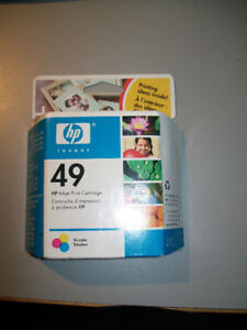 HP 49 Inkjet Print Cartridge --old but never opened