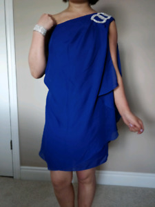 Blue dress for prom, graduation, party or any formal occation