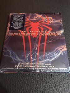 Hans-Zimmer-2-CD-Banda-Sonora-The-Amazing-Spiderman-2-Edicion-Especial