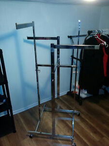 Heavy Duty, Store Quality *Adjustable* Clothes Rack  $125 firm