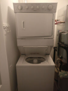 Stackable Washer Dryer-Almost new:LESS THAN 3 MONTH OLD-Whrlpool