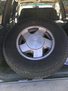 Rim & Tire Set