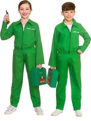Paramedizinisch Kinder Kostüm Arzt Er Uniform Jungen Mädchen Kinder Alter (Kind E R Arzt Kostüme)