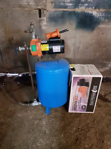 Water Pump with Tank