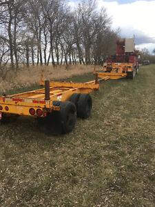 Pole trailer