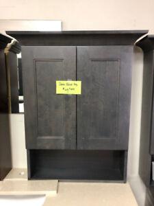 vanity medicine cabinet demos CLEARANCE now!!!