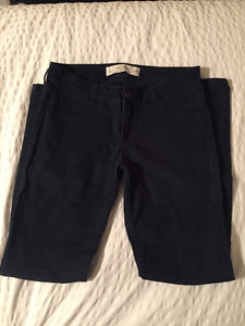 Abercrombie & Fitch Navy Pants