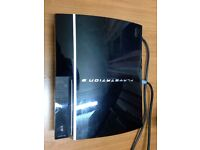 Sony PlayStation 3 PS3 80gb with 1 controller,HDMI cable and 2 games