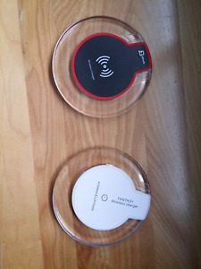 Two wireless chargers