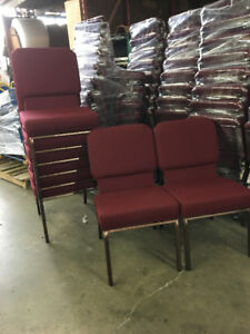 Stackable Church Chairs