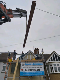 Crane/hiab for hire & driver