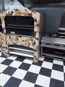 Gorgeous Marshalls and Sons single deck stone pizza oven
