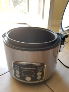 Hamilton Beach Digital Simplicity Rice Cooker