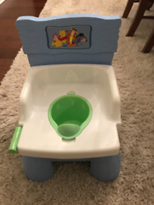 Training potty for toddler.