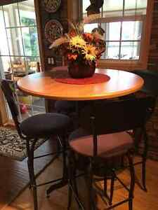 Pub Table & 4 Chairs
