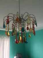 Multicoloured chandelier new