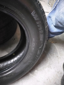 235/65 R16  set of 4 used Winter tire's
