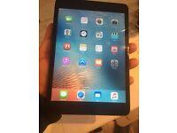 iPad mini 16gb dark gray perfect condition