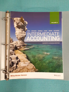 Intermediate Accounting 11th Canadian Edition, Volume 2