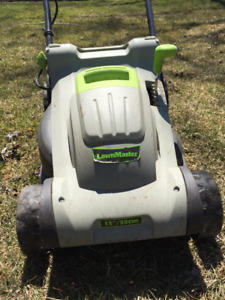 2 old electric lawnmowers for sale