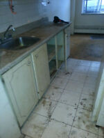 AFFORDABLY PRICED flooring removal/demolition plus disposal fee
