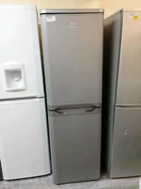 Indesit fridge freezer silver at Recyk Appliances