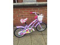 16inches girls bike