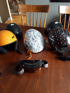 Ski helmets - never been in an accident