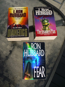 L.RON HUBBARD ( IN ENGLISH ) $5.00 each ( 3 for $ 12.00 )