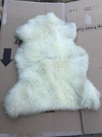 100% Authentic Sheep's Skin motorcycle Seat Cover