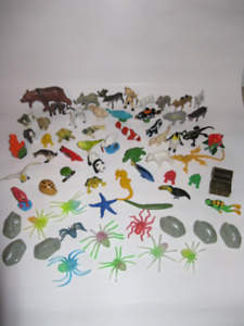 Animal Figurines lot of 65