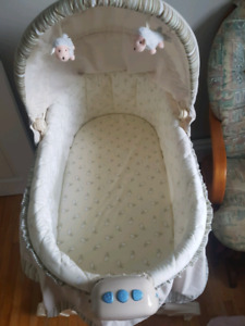 Baby bassinet lightly used