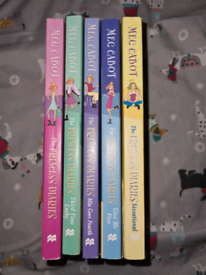 The princess Diaries books