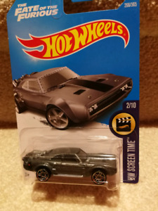 Hot Wheels THE FATE OF THE FURIOUS ICE CHARGER.